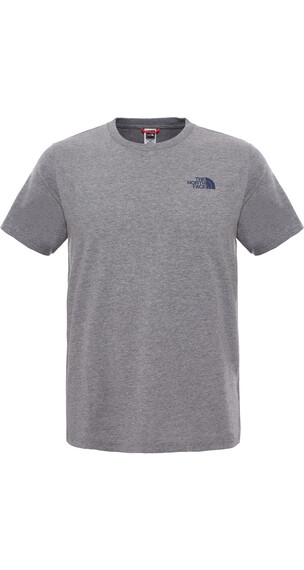 The North Face M's Redbox S/S Tee TNF Medium Grey Heather
